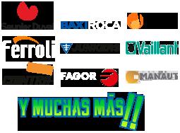 servicio tecnico de calderas Roca, BaxiRoca, Saunier Duval,Cointra, Ferroli, Domusa, Vaillant y Fagor en Alcobendas