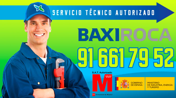 Servicio tecnico Calderas BaxiRoca Alcobendas