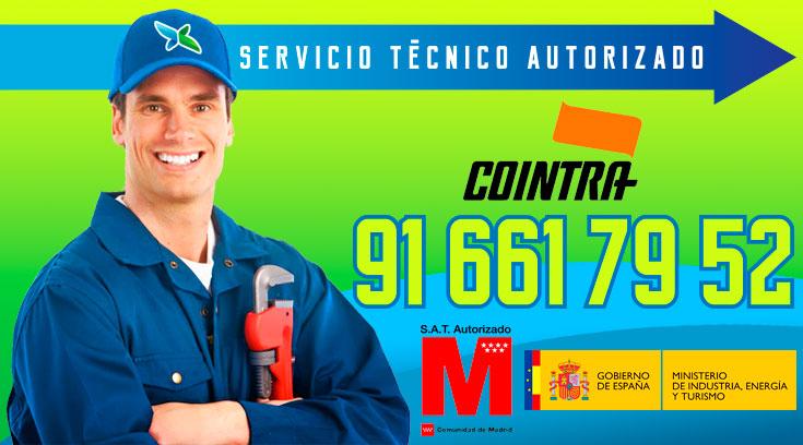Servicio tecnico Calderas Cointra Alcobendas