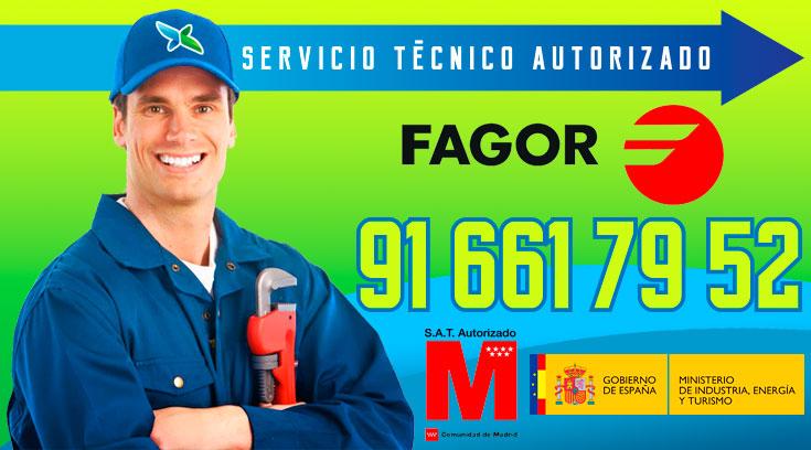 Servicio tecnico Calderas Fagor Alcobendas