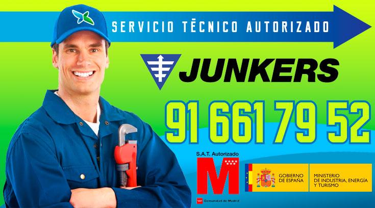 Servicio tecnico Calderas Junkers Alcobendas