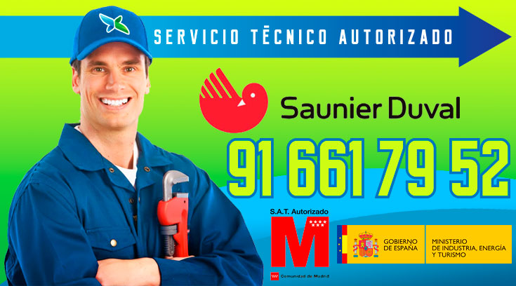 Servicio tecnico Calderas Saunier Duval Alcobendas