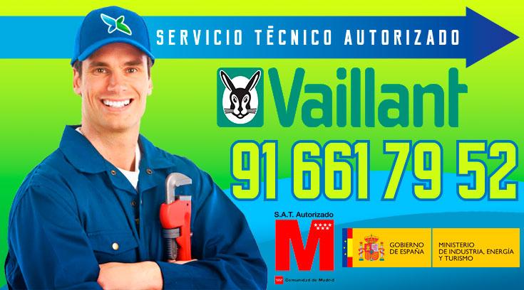 Servicio tecnico Calderas Vaillant Alcobendas