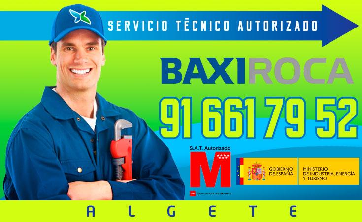 Servicio tecnico Calderas BaxiRoca Algete