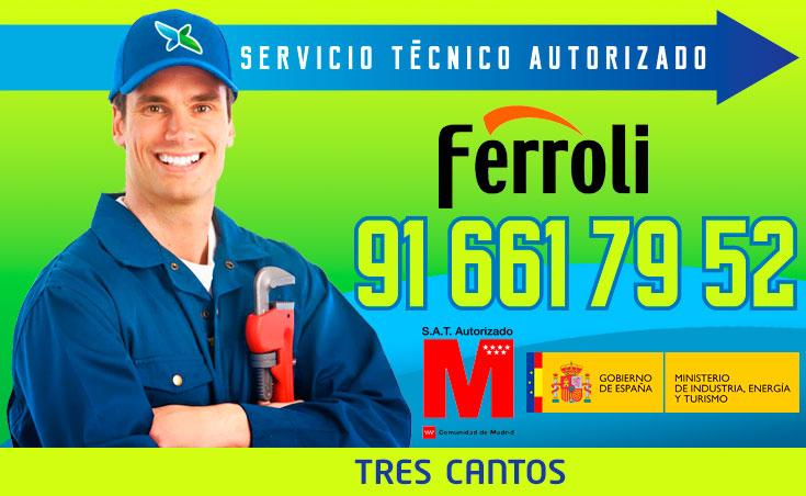 Servicio tecnico Calderas Ferroli Tres Cantos