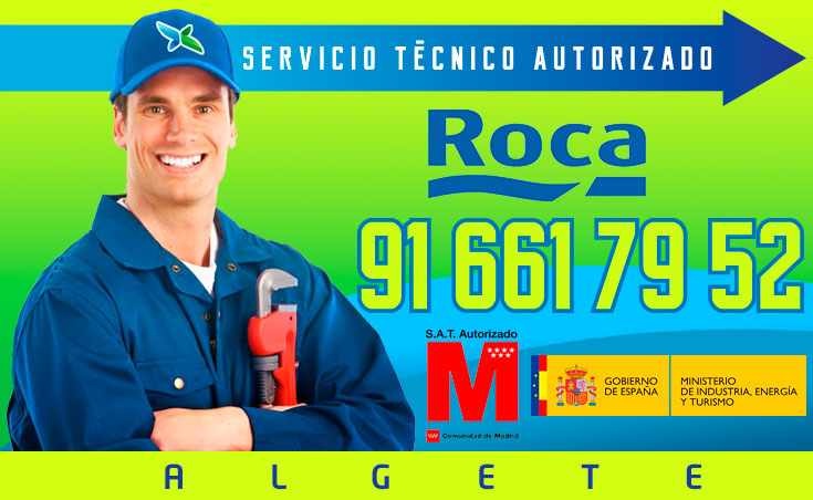 Servicio tecnico Calderas Roca Algete