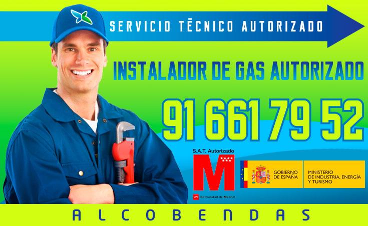 Instalador de gas autorizado Alcobendas