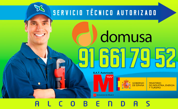 Servicio tecnico Calderas Domusa Alcobendas