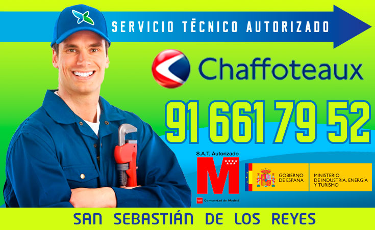 Servicio tecnico Calderas Chaffoteaux Alcobendas