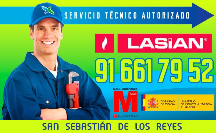 Servicio tecnico Calderas Lasian Alcobendas