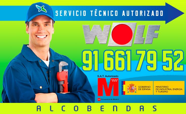 Servicio tecnico Calderas Wolf Alcobendas