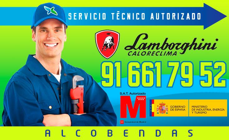 Servicio tecnico Calderas Lamborghini Alcobendas