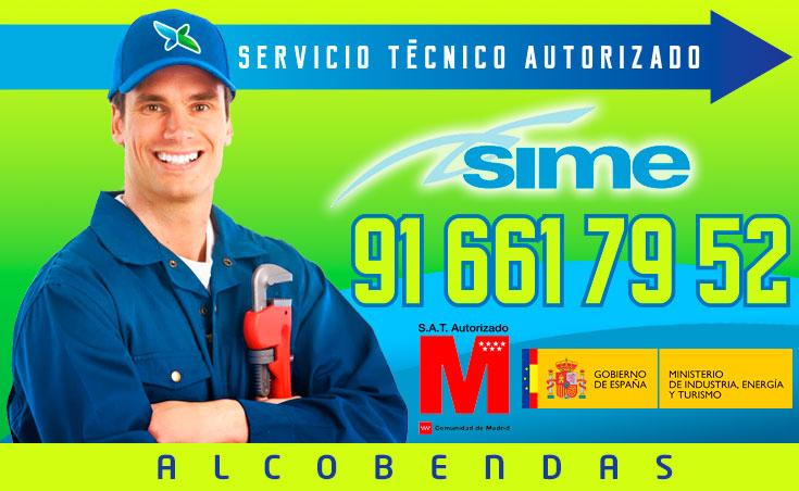 Servicio tecnico Calderas Sime Alcobendas