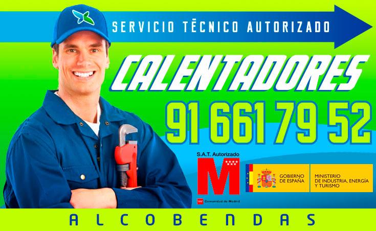 servicio técnico calentadores en Alcobendas