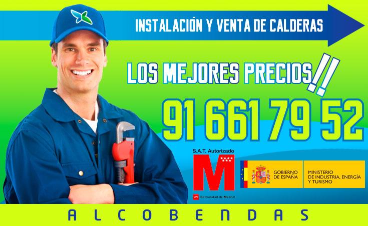 Instalación y venta de calderas en Alcobendas
