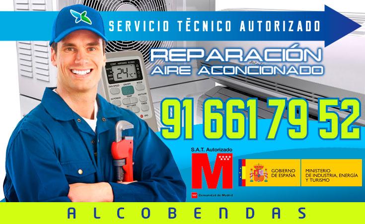 Reparación aire acondicionado en Alcobendas