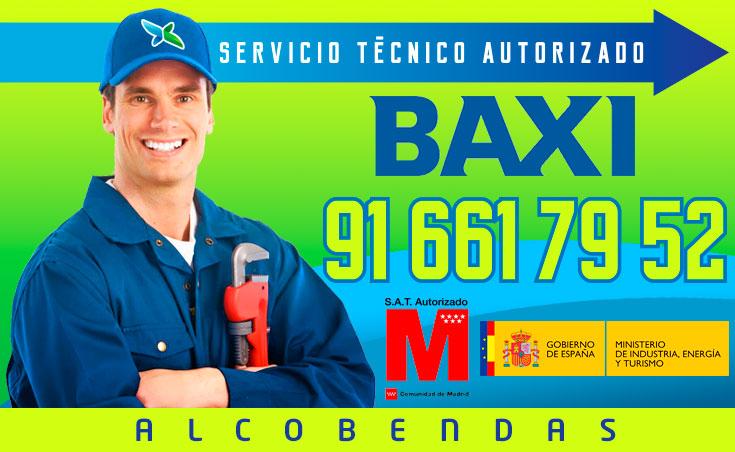 Servicio Técnico Calderas Baxi en Alcobendas