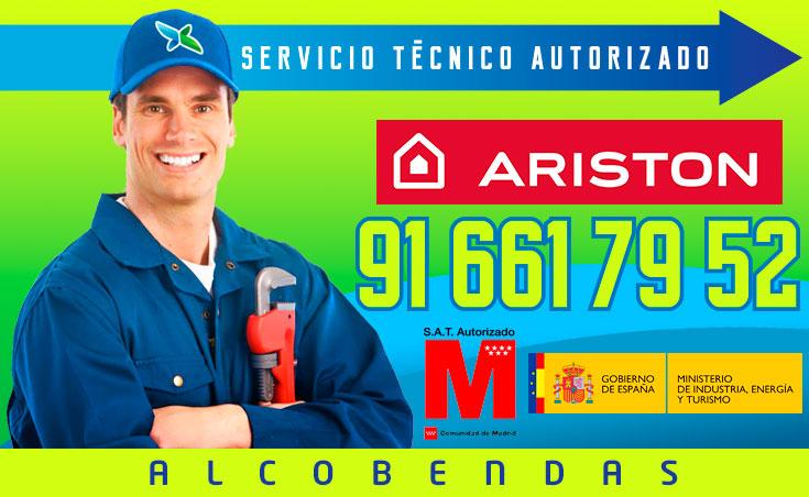 Servicio técnico calderas Ariston en Alcobendas