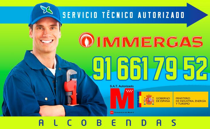 Servicio técnico Calderas Immergas en Alcobendas