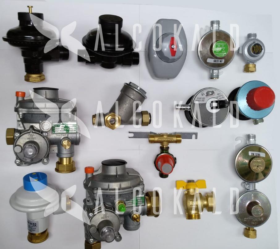 sustitución regulador de gas natural de cualquier modelo en Alcobendas