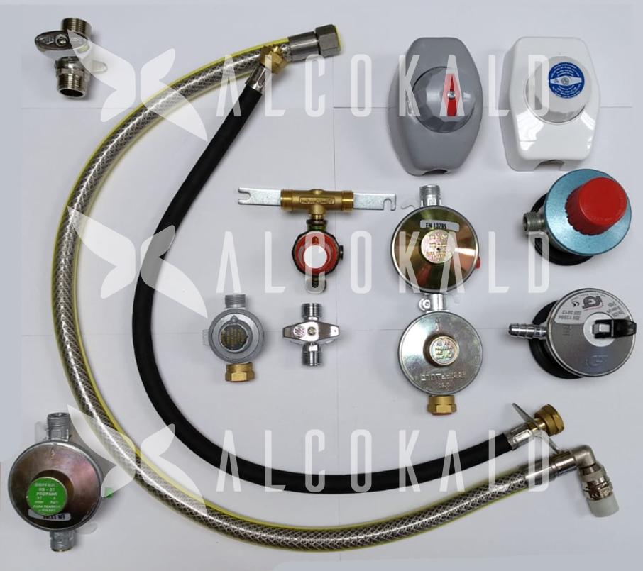 sustitución reguladores de gas natural, propano y butano de cualquier modelo en Alcobendas