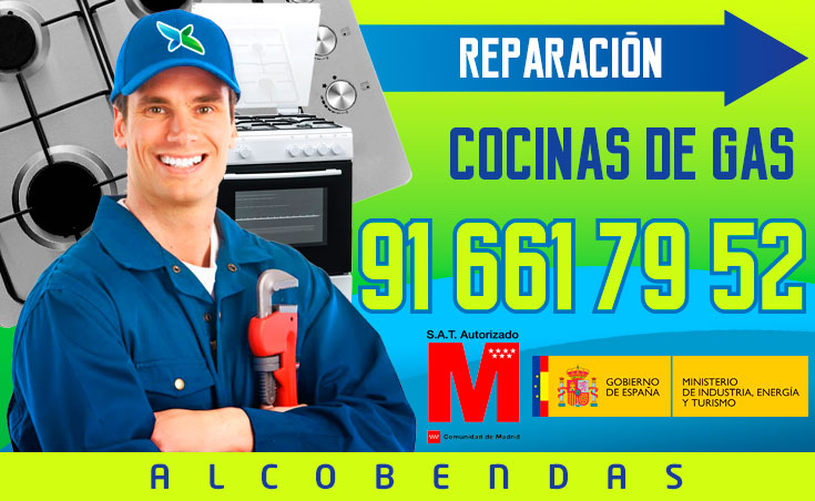 Reparación de cocinas de gas en Alcobendas