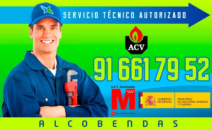 servicio técnico calderas ACV en Alcobendas