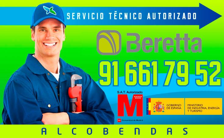 servicio técnico calderas Beretta en Alcobendas