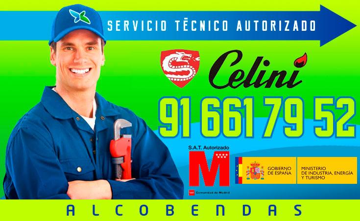 servicio técnico calderas Celini en Alcobendas