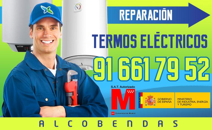 Reparación Termos eléctricos en Alcobendas