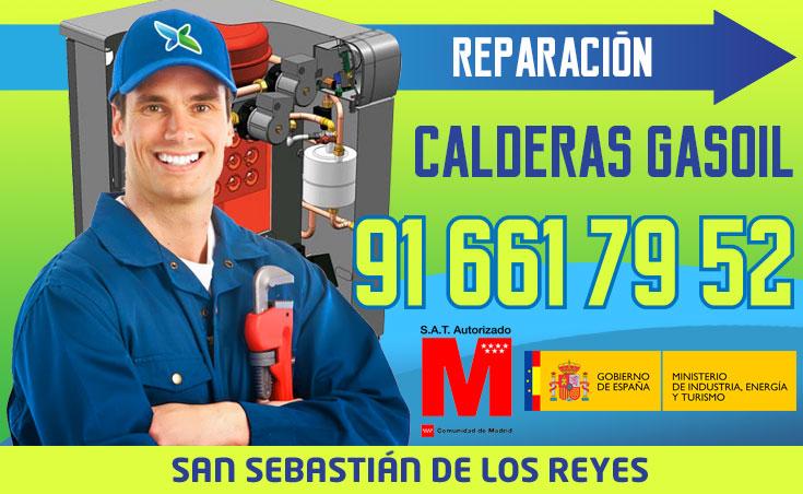 Reparación de calderas de gasoil en San Sebastián de los Reyes
