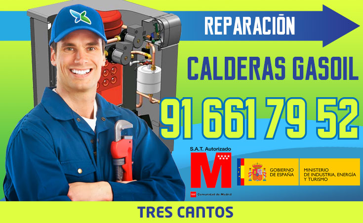 Reparación de calderas de gasoil en Tres Cantos